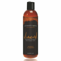 Intimate Earth Almond - organikus masszázsolaj - méz-mandula (120 ml)